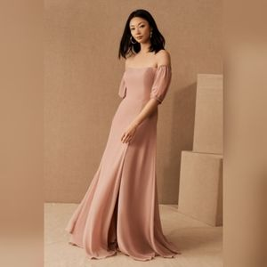 NWT BHLDN Jamie Luxe Chiffon Dress